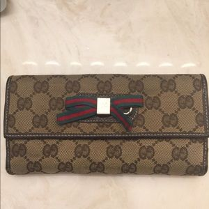 Authentic Gucci Wallet Bifold